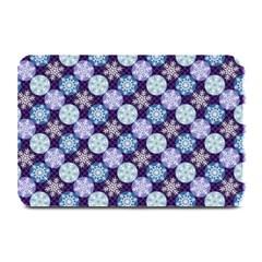 Snowflakes Pattern Plate Mats by DanaeStudio