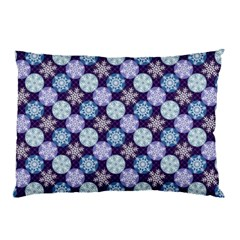 Snowflakes Pattern Pillow Case by DanaeStudio