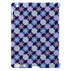 Snowflakes Pattern Apple Ipad 3/4 Hardshell Case (compatible With Smart Cover) by DanaeStudio