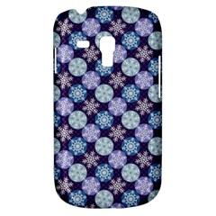 Snowflakes Pattern Samsung Galaxy S3 Mini I8190 Hardshell Case by DanaeStudio