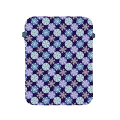 Snowflakes Pattern Apple Ipad 2/3/4 Protective Soft Cases by DanaeStudio