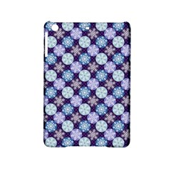 Snowflakes Pattern Ipad Mini 2 Hardshell Cases by DanaeStudio