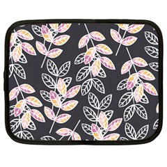 Winter Beautiful Foliage  Netbook Case (large) by DanaeStudio