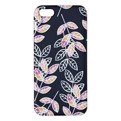 Winter Beautiful Foliage  Apple Iphone 5 Premium Hardshell Case by DanaeStudio