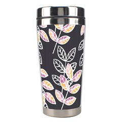 Winter Beautiful Foliage  Stainless Steel Travel Tumblers by DanaeStudio