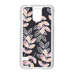 Winter Beautiful Foliage  Samsung Galaxy S5 Case (white) by DanaeStudio