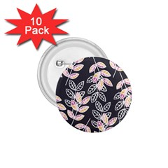 Winter Beautiful Foliage  1 75  Buttons (10 Pack) by DanaeStudio