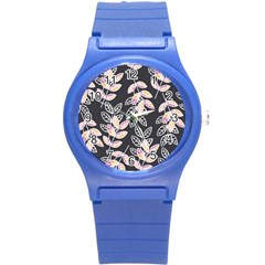Winter Beautiful Foliage  Round Plastic Sport Watch (s) by DanaeStudio