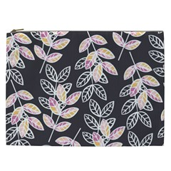 Winter Beautiful Foliage  Cosmetic Bag (xxl)  by DanaeStudio