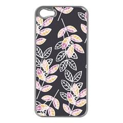 Winter Beautiful Foliage  Apple Iphone 5 Case (silver) by DanaeStudio