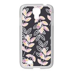 Winter Beautiful Foliage  Samsung Galaxy S4 I9500/ I9505 Case (white) by DanaeStudio