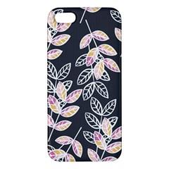 Winter Beautiful Foliage  Iphone 5s/ Se Premium Hardshell Case by DanaeStudio