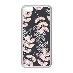 Winter Beautiful Foliage  Apple Iphone 5c Seamless Case (white) by DanaeStudio