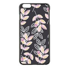 Winter Beautiful Foliage  Apple Iphone 6 Plus/6s Plus Black Enamel Case by DanaeStudio