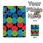 Vibrant Retro Pattern Playing Cards 54 Designs