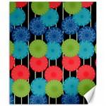 Vibrant Retro Pattern Canvas 20  x 24