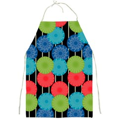 Vibrant Retro Pattern Full Print Aprons by DanaeStudio