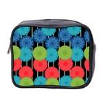 Vibrant Retro Pattern Mini Toiletries Bag 2-Side