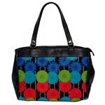 Vibrant Retro Pattern Office Handbags