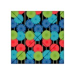 Vibrant Retro Pattern Acrylic Tangram Puzzle (4  x 4 )
