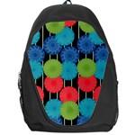 Vibrant Retro Pattern Backpack Bag