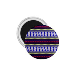 Colorful Retro Geometric Pattern 1 75  Magnets by DanaeStudio