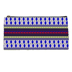 Colorful Retro Geometric Pattern Pencil Cases by DanaeStudio