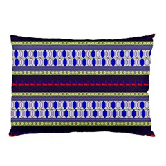 Colorful Retro Geometric Pattern Pillow Case (two Sides) by DanaeStudio