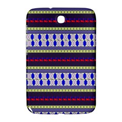 Colorful Retro Geometric Pattern Samsung Galaxy Note 8 0 N5100 Hardshell Case  by DanaeStudio