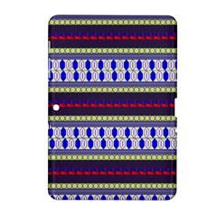 Colorful Retro Geometric Pattern Samsung Galaxy Tab 2 (10.1 ) P5100 Hardshell Case  by DanaeStudio