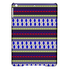 Colorful Retro Geometric Pattern Ipad Air Hardshell Cases by DanaeStudio