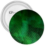 Ombre Green Abstract Forest 3  Buttons