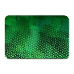 Ombre Green Abstract Forest Plate Mats
