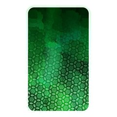 Ombre Green Abstract Forest Memory Card Reader by DanaeStudio