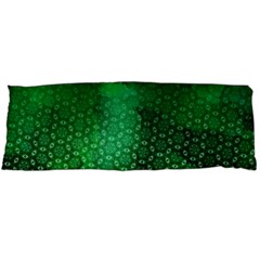 Ombre Green Abstract Forest Body Pillow Case (dakimakura) by DanaeStudio