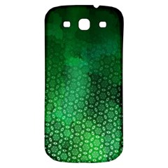 Ombre Green Abstract Forest Samsung Galaxy S3 S Iii Classic Hardshell Back Case by DanaeStudio