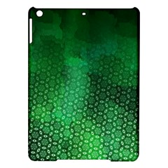 Ombre Green Abstract Forest Ipad Air Hardshell Cases by DanaeStudio
