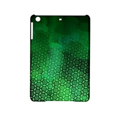 Ombre Green Abstract Forest Ipad Mini 2 Hardshell Cases by DanaeStudio