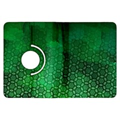 Ombre Green Abstract Forest Kindle Fire Hdx Flip 360 Case by DanaeStudio