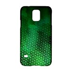 Ombre Green Abstract Forest Samsung Galaxy S5 Hardshell Case
