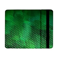 Ombre Green Abstract Forest Samsung Galaxy Tab Pro 8 4  Flip Case by DanaeStudio