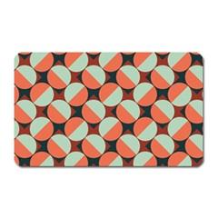 Modernist Geometric Tiles Magnet (rectangular) by DanaeStudio