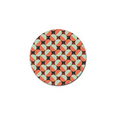 Modernist Geometric Tiles Golf Ball Marker (10 Pack) by DanaeStudio
