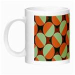 Modernist Geometric Tiles Night Luminous Mugs