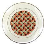 Modernist Geometric Tiles Porcelain Plates