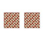 Modernist Geometric Tiles Cufflinks (Square)
