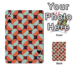 Modernist Geometric Tiles Playing Cards 54 Designs  by DanaeStudio