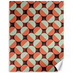 Modernist Geometric Tiles Canvas 12  x 16