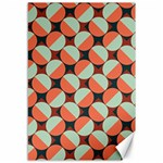 Modernist Geometric Tiles Canvas 12  x 18