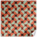 Modernist Geometric Tiles Canvas 20  x 20